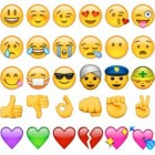 Emoji, emoticon of ideogram - karakter met emotie