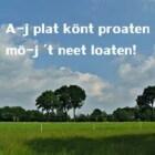 Het Nedersaksisch is een officieel erkende taal in Nederland