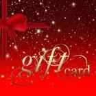 De verschillende giftcards en cadeaubonnen