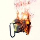 Brand door je telefoon aan de oplader - kan dit?