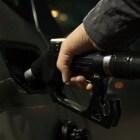 Verschillende brandstoffen: olie, aardolie, benzine en gas
