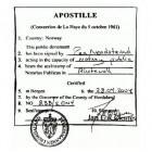 Apostilleverdrag: vereenvoudigd legaliseren van documenten