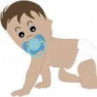 Help je baby om te leren kruipen en de wereld te ontdekken