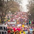 Women's March on Washington – demonstratie met pussyhats