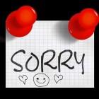 """Hoe gemeend is het woord """"sorry""""?"""