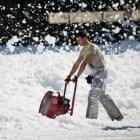 Boete voor niet sneeuwvrij maken van stoep