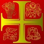 De oorsprong van de symbolen van de vier evangelisten