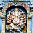 Ganesha, oosterse god met olifantenhoofd