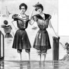 Badmode vroeger en nu: van naakt bij de Romeinen tot badpak