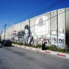 Sociale kunst op Palestijns / Israëlische muur