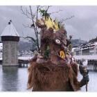 Carnaval in de Zwitserse stad Luzern