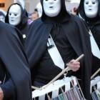 Duizenden tamboers bij het Baselse carnaval