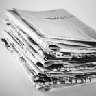 Journalistiek: de krant / het dagblad