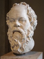 Socrates, 5e eeuw BCE / Bron: Lysippos (kopie ), Wikimedia Commons (CC BY-SA-2.5)