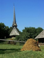 Wooden church / Bron: Florinf, Rgbstock