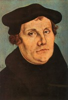 Maarten Luther  / Bron: Lucas Cranach the Elder, Wikimedia Commons (Publiek domein)