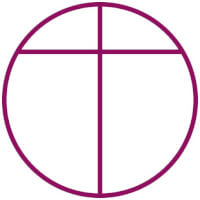 Opus Dei-kruis / Bron: Vectorized by Froztbyte, Wikimedia Commons (Publiek domein)