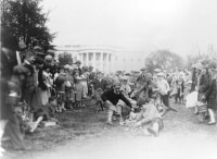 Easter Egg Roll in 1929 / Bron: National Photo Company Collection, Wikimedia Commons (Publiek domein)